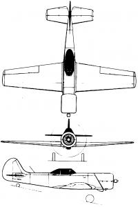 Yak 50 plan drawing