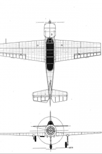 Yak 52 plan drawing